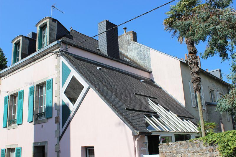 Vente maison 1900 extension quimper quartier st marcl for Extension maison 1900